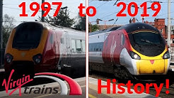 The history of Virgin Trains (tribute)