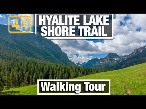 4K City Walks Hyalite Lake West Shore Trail near Bozeman Virtual Walking Trails for Treadmill