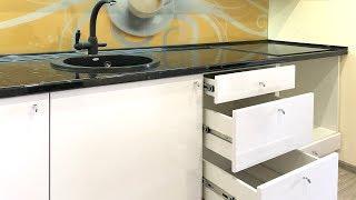 прямая кухня 2 метра. Дизайн небольшой кухни на заказ. Маленький кухонный гарнитур в квартире студии