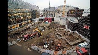 Ausgrabungen in Köln : Älteste Bibliothek Deutschlands entdeckt