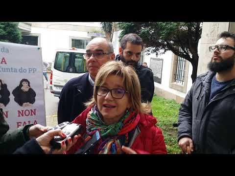 Rolda de prensa sobre as emendas do BNG da comarca da Coruña aos orzamentos da Xunta 2019