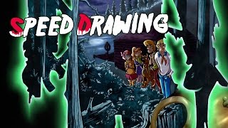 Speed Drawing - Scooby-Doo