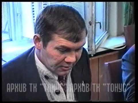Генерал Лебедь в Сергиевом Посаде. 1995 г.