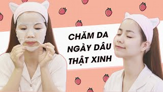 Buổi Tối Ngày Đèn Đỏ ♡ My Period Skincare Routine ♡ Quin