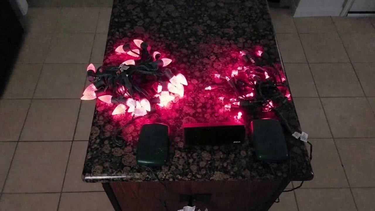 Philips Illuminate Christmas Lights - YouTube