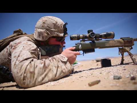 USMC Scout Sniper Training