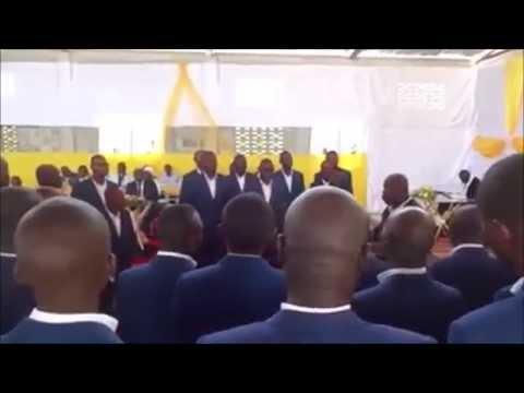 """Ebnm kcc UVPRO-Angola ft Les Photos de Reception d Apotres d Angola """"Allo les KCCistes"""""""