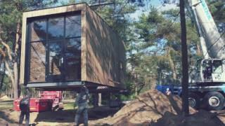 Plaatsing Eerste Tiny House Op Droompark De Zanding