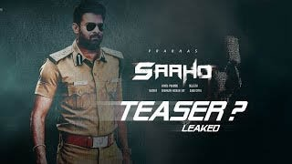 Saaho Official Teaser Trailer Saaho Official Trailer  Saaho Movie Official Teaser Telugu Portal