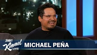 Michael Peña on Shooting Dora the Explorer Movie in Australia