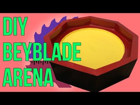 Easy DIY Beyblade Arena | How To (/ベイブレードバースト/戰鬥陀螺 爆裂)
