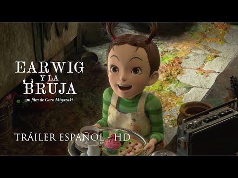 EARWIG Y LA BRUJA - La primera película de animación 3D de  Studio Ghibli