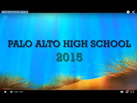 What's Up Palo Alto High School 2015-16