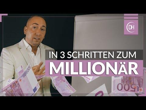 Millionär werden - In 3 Schritten Reich werden