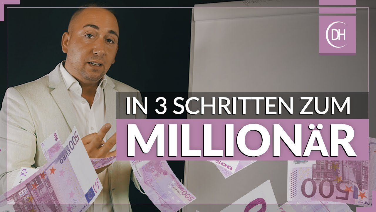 wie kann man selfmade millionär werden