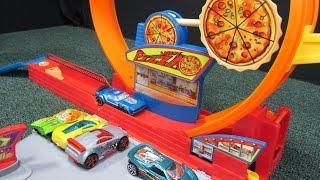 Hot Wheels Speedy Pizza Fold&Go Playset Pizzaaah!