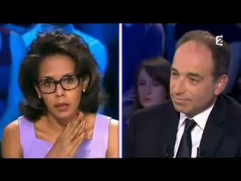 Clash entre Jean François Copé et Audrey Pulvar - On n'est pas couché