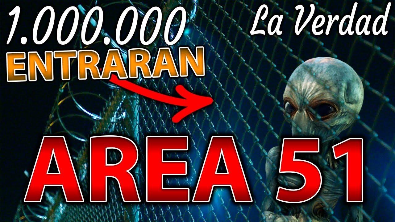 Area 51 - Millones de Personas Van a Entrar a la Fuerza! La Verdad