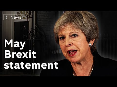 Theresa May makes Brexit statement