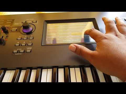 Brand new Yamaha MODX Indian sounds performances MODX6 MODX7 MODX8