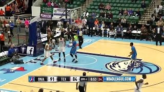 Bobby Ray Parks Jr. Scores Season-High 12 Points for Texas Legends