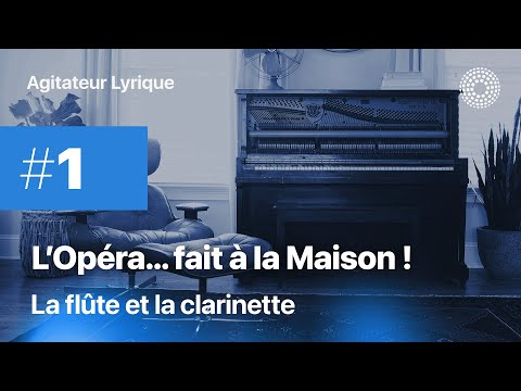 L'Opéra à la maison #1 - La flûte et la clarinette
