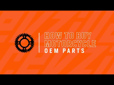 How To Buy OEM Motorcycle Parts