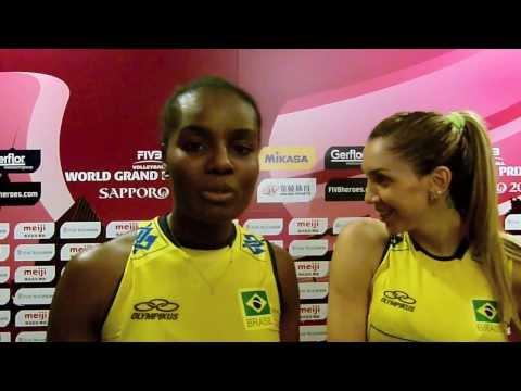 FIVB Volleyball World Grand Prix Finals    Brazil - Fabiana, Thaisa, Sheilla, Gabriela