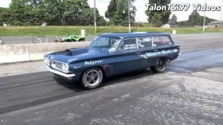 Moody Blue Pontiac Tempest Wagon 9.0 Test Hits