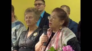 Участие губернатора Югры Н. В. Комаровой в заседании Клуба старожилов Нягани