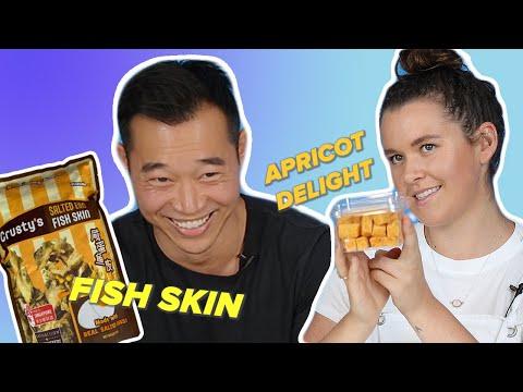 Australia Vs. Singapore Snack Swap
