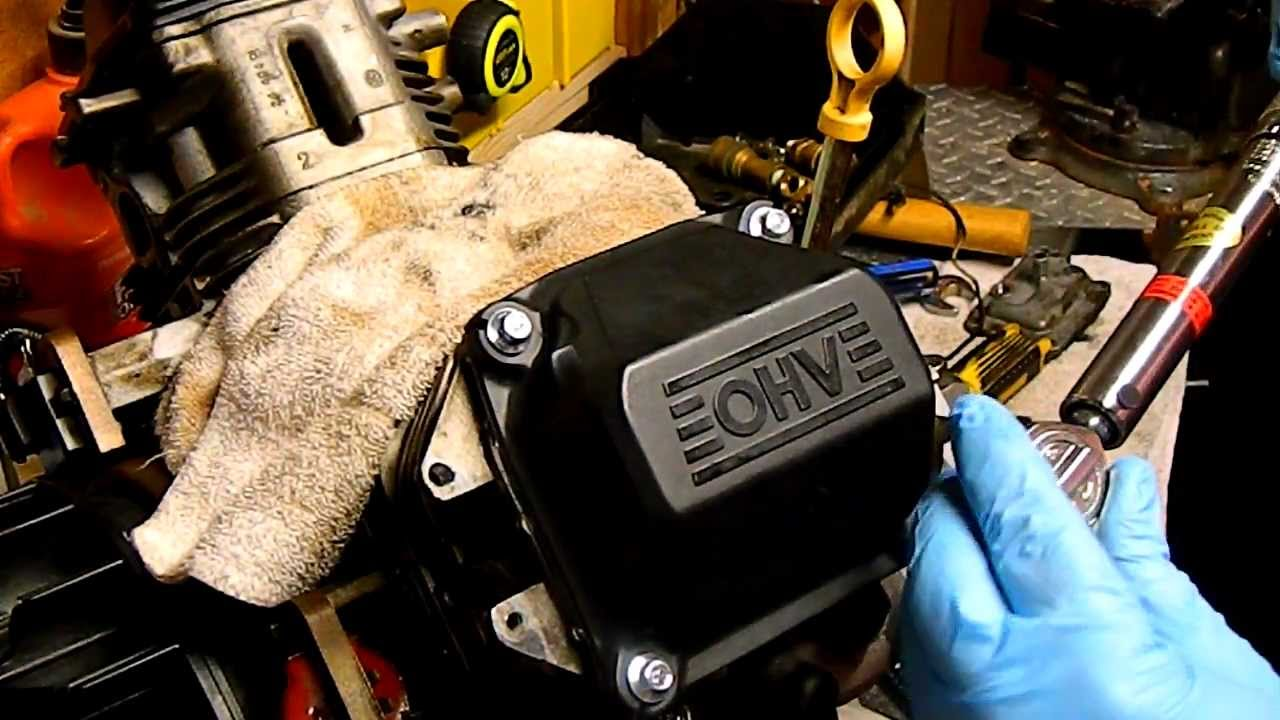 How To Change Valve Cover Gasket And Kohler Command Ch18 You Courage Breather Reed Causing Oil Leak Problems