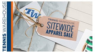 Tennis Warehouse SITEWIDE Apparel Sale starts NOW!