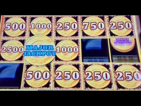 (2) HANDPAYS ON LIBERTY LINK - MAJOR JACKPOT - HIGH LIMIT $25 MAX BET SPINS ONLY - 동영상