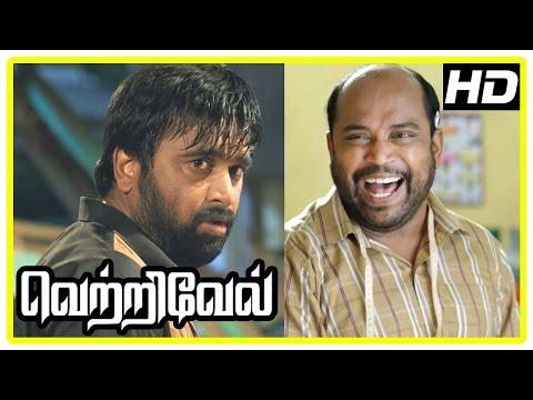 Vetrivel tamil movie | scenes | Sasikumar attacked by Rajesh | Miya knows Sasikumar has married