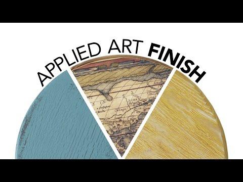 Decoupage Wood Finish