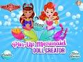 Pin Up Mermaid Doll Creator- Fun Online Fashion Dress Up Games for Girls Teens