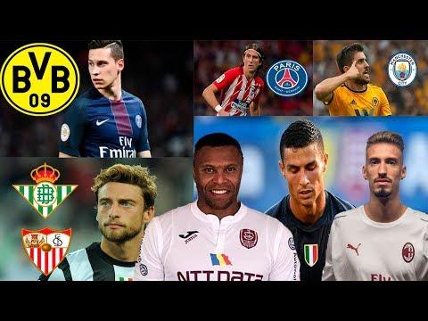 MERCADO DE FICHAJES 2019 CONFIRMADOS y rumores Marchisio, Weigl, Ronaldo debut, Baptista y más!