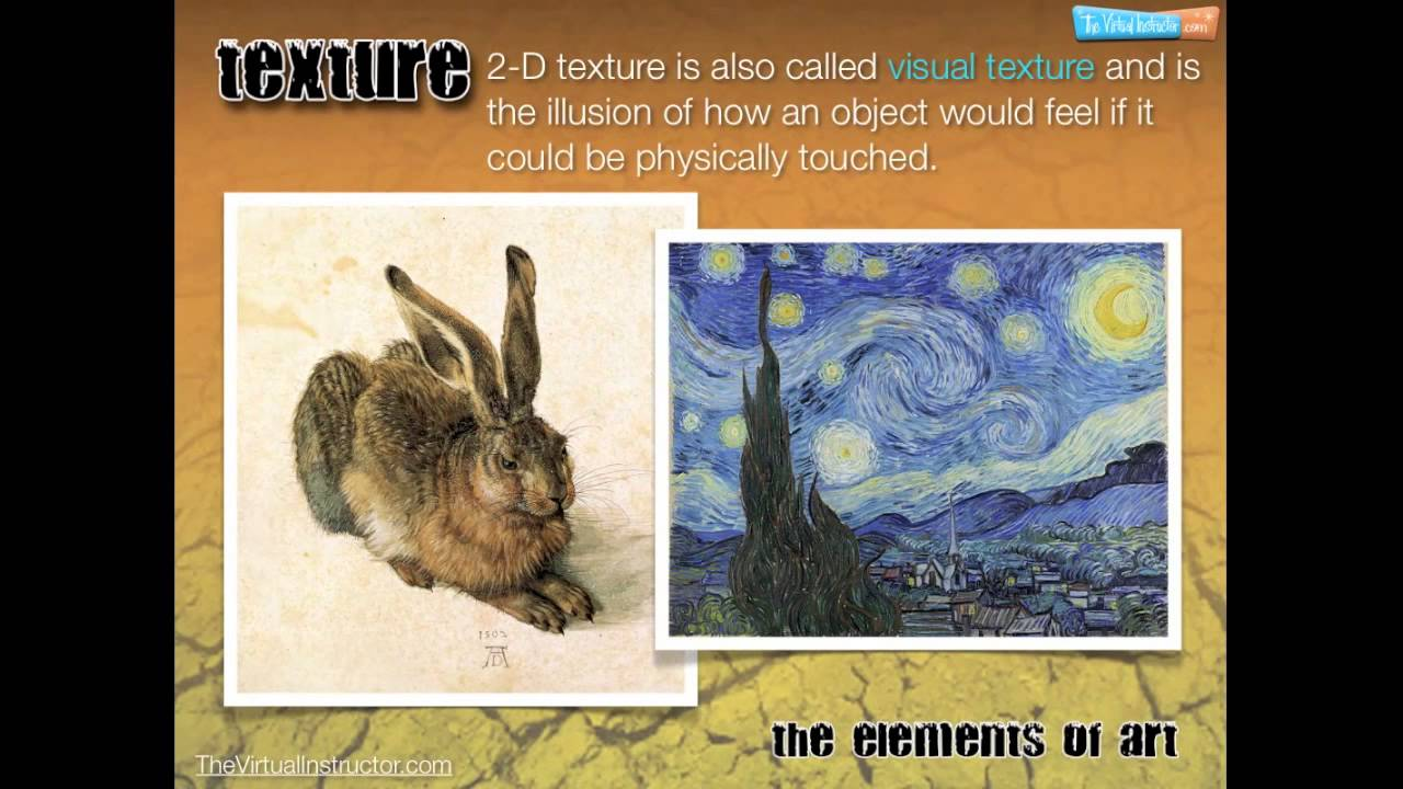 The Elements of Art - Texture