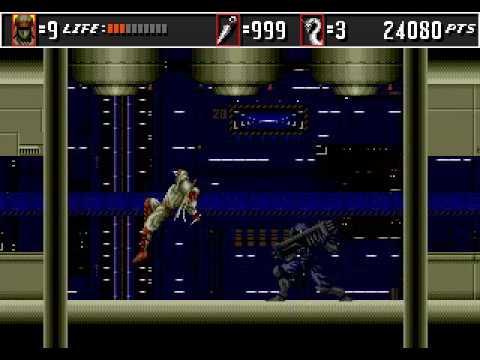 Super Shinobi 2 (Shinobi 3) Beta - 1992 - Level 2
