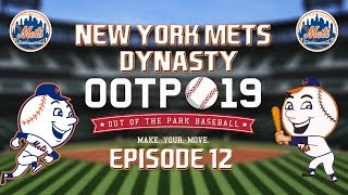 Out of the Park Baseball (OOTP) 19: New York Mets Dynasty - 2019 NLCS Part 1 [EP12]