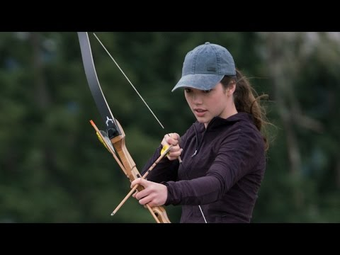 Alisha Newton on Mounted Archery  Heartland  CBC