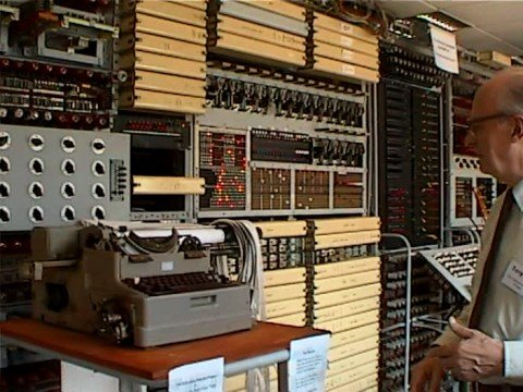Tony Sale and Colossus at Bletchley Park
