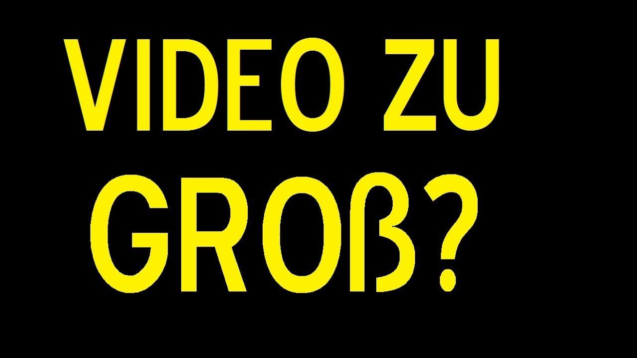 video komprimieren video verkleinern wie verkleinere ich videos youtube. Black Bedroom Furniture Sets. Home Design Ideas