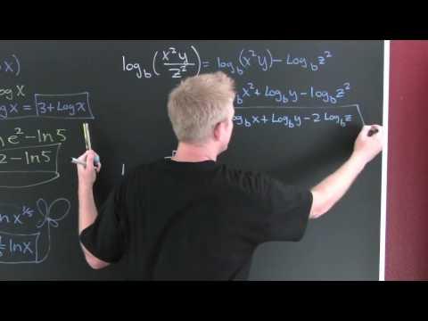 Expanding Logarithms