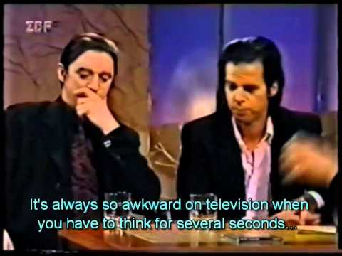 ZDF interview with Nick Cave and Blixa Bargeld1997