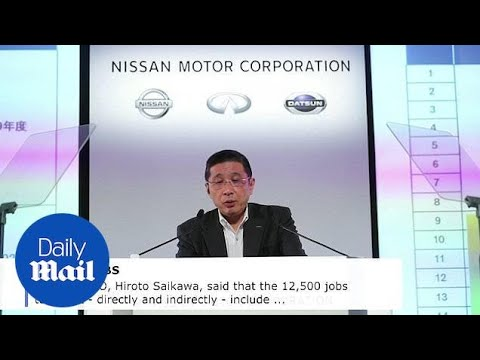 Nissan Announces It Will Cut 12,500 Jobs As Profits Plunge