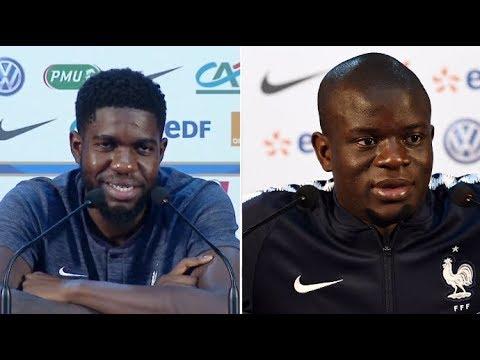 Coupe du monde 2018: N'Golo Kanté a un gros défaut, selon Samuel Umtiti