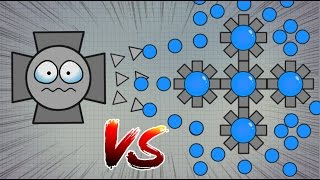 Diep.io OCTOBOSS vs FALLEN OVERLORD !! // ULTIMATE OCTO SQUAD TAKEOVER !! - iHASYOU