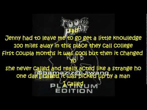 too phat-just a friend lyrics.wmv